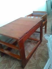 Продаю деревянный стульчик для кормления.